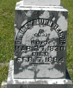 Tombstone of Iley Nunn Selph (1830-1894)