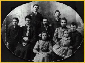 Family of George Washington and Margaret Ann (Miller) Self