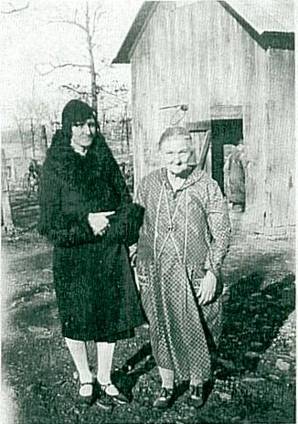 Fannie Sharp and daughter Alice