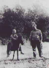 Frank Selph and his son
