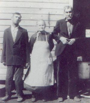 Andrew Anderson Self, wife Melvina Martha Hood, son Thomas Jefferson