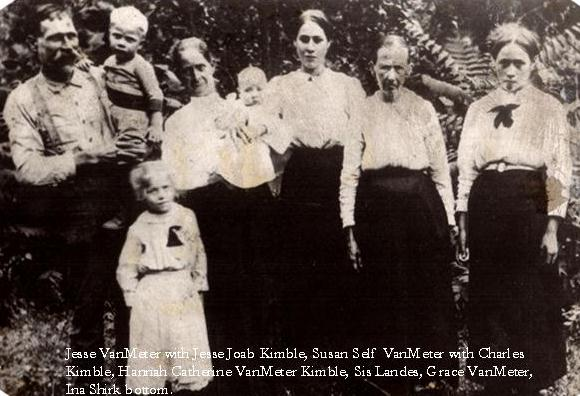 Self-VanMeter-Kimble Family of WV