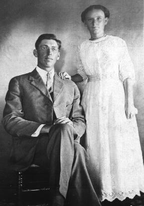 Ervin Harrison and Luella Belle (Guest) Self