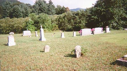 Grave of William Washington Self in Shooting Creek, NC